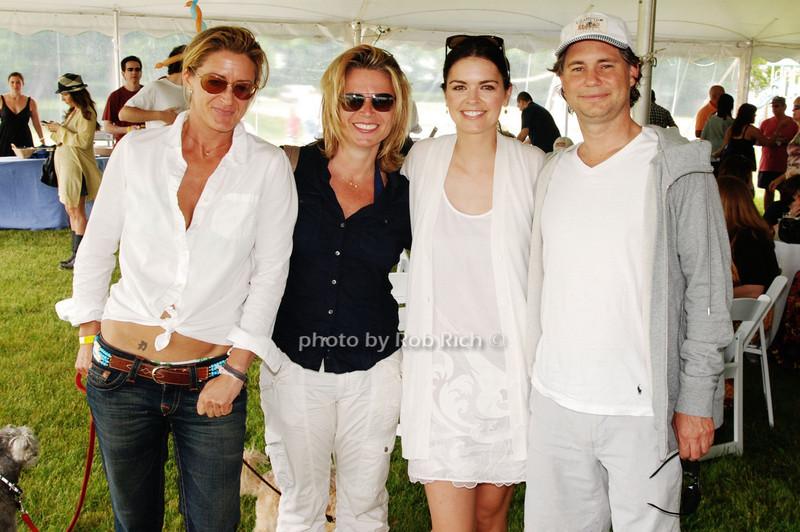 Andrea Mitchell, Jennifer Bergstram, Kaite Lee Joel and Jason Binn<br /> photo by Rob Rich © 2009 robwayne1@aol.com 516-676-3939