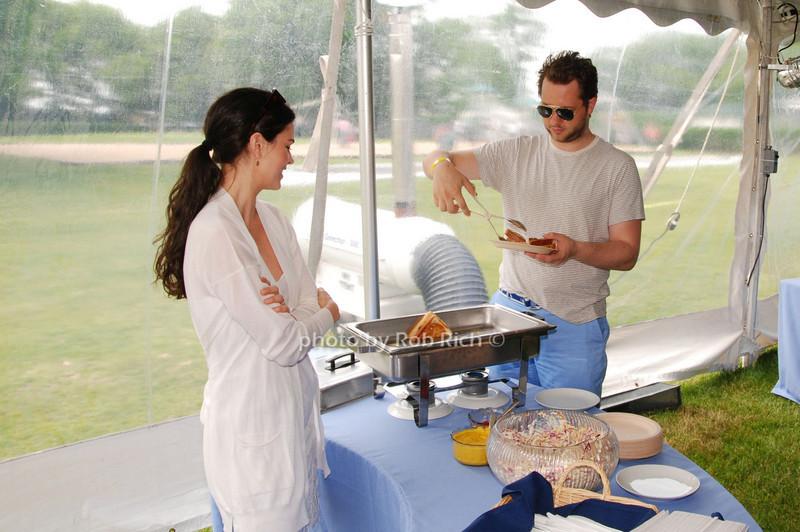 Katie Lee Joel and Derek Blasberg<br /> photo by Rob Rich © 2009 robwayne1@aol.com 516-676-3939