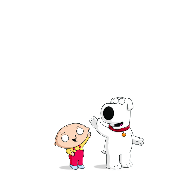 . Stewie and Brian of FAMILY GUY    (2012/Fox)
