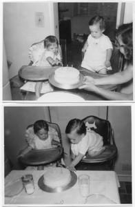 Lohmann's, July 1951 (Bob and Mary birthday)