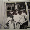 6 7 2014 Auntie Annie, Tommy & Dad, Normal Ave, about 1950
