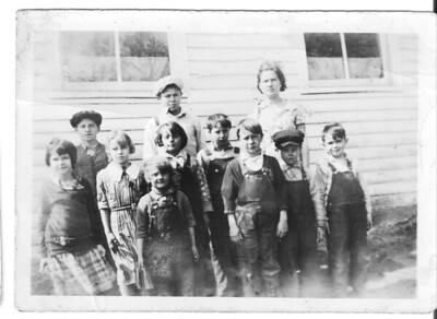 1 20 2014 dad, and classmates, early 1930s, Lyndon Sta, WI 2