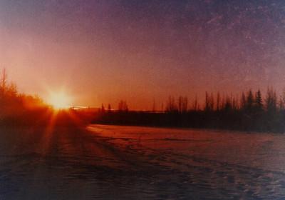 1 17 2014 Badger Slough, sunrise Jan1971