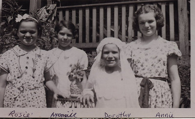 1 9 2014 The Ratkovic Girls, about 1938 CIMG0879