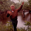 1 15 2014 Dad, fishing on Lemonwire R, Mauston, WI, 1965