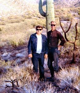 1 18 2014 Dad & Uncle Max, Tucson, AZ, 1974