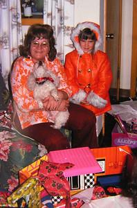 2 2 2014 Jenny & Grandma Rose, Christmas, Chicago, 1974