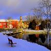 1 1 14 New Years Day, 2014, Saranac Lake, Lake Flower, +3F, 9am DSCN2903a