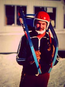 2 7 2014 Tom, luge at van hovenburg 3, march 1980