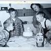 1 5 14 Buddy's birthday, 3008 S Normal ave, Chicago, feb 1955
