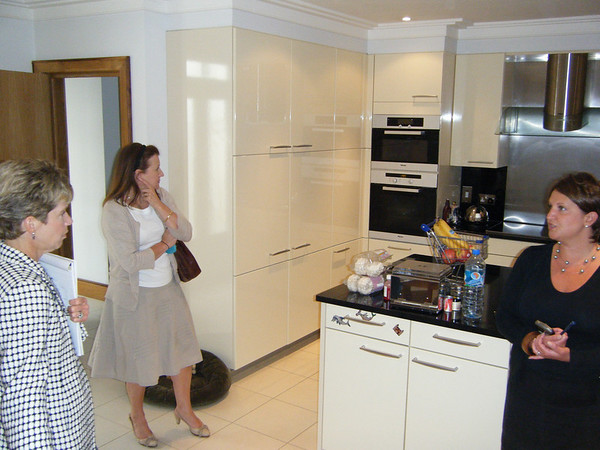 Kitchen in the basement.