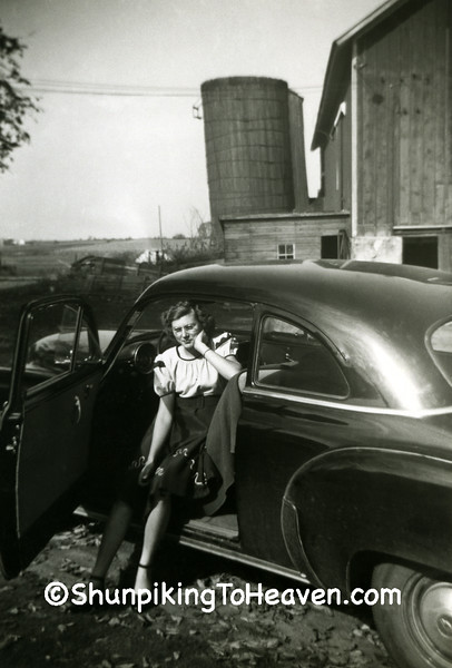 Dorothy Rose Barman Ringelstetter, Circa 1950, Dane County, Wisconsin
