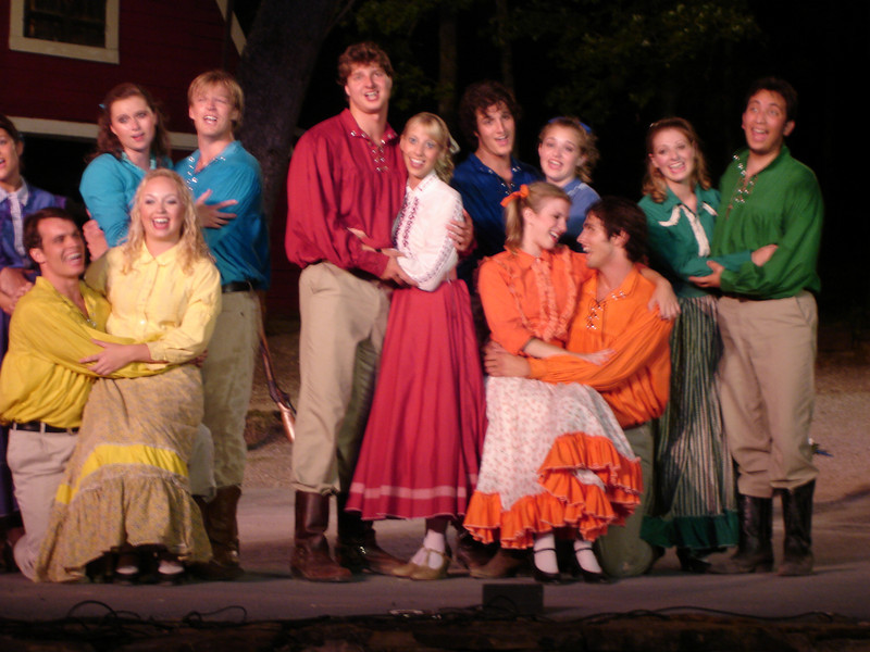 Seven Brides for Seven Brothers at Discoveryland.