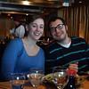 Sarah and Jon 26 birthdays at Takumi in Nashua.