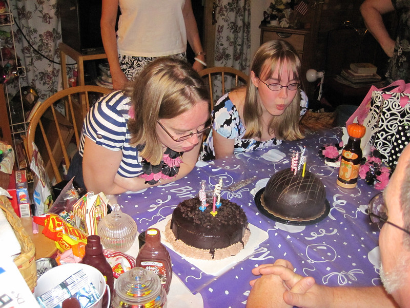 Twins 21st birthday