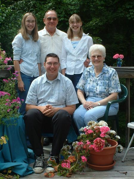 Mom & Dad visit summer 2004
