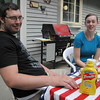 Jon & Sarah, Summer on the Deck 2011.