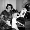 Georgie & Carina, ~1986