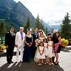 Stephanie & Michael's Wedding at the Fairmont Chateau Lake Louise <br /> Photo by Christina, FunkyTown Photography
