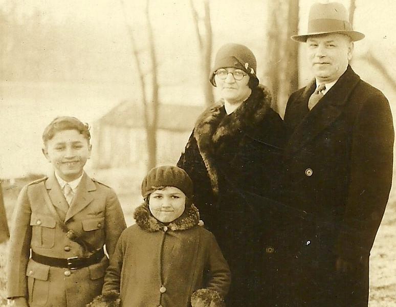 Marty, Edna, Celia and Benjamin Kurtzman