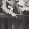 Bert and Sidney Roth seeing off Harry and Etta on a ship to Hungary about 1930