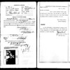 Sam Nathanson's application for US passport with letter from his mother to come get him