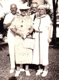 Harry and Etta Roth Klein with Bernard and Celia Klein Goodman/  Harry and Etta raised Morris (Harry was Celia's brother