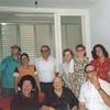 Back:  Gadelia Gelman,<br /> front:  Tessie, Ita Lerner Gelman, Ahron?