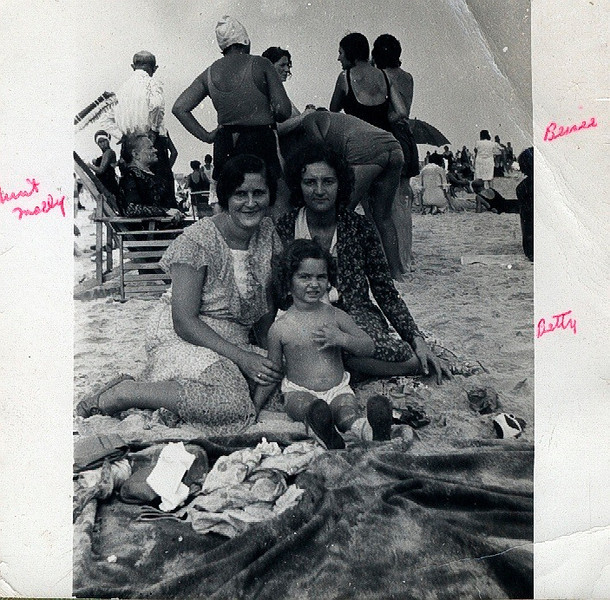 Molly & Betty Roth and Bessie Jacobs