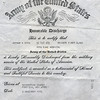 Berts army discharge papers