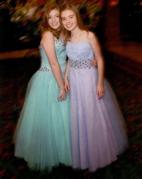 Adina & Harmony Grodsky at 13