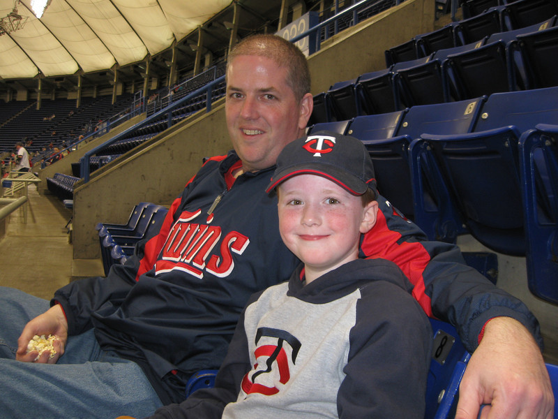 Andy and Matt. Twins win! 2009