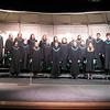 Tia's senior choir. Third from left, top row.