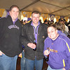 Andy, Ernie and Tony at the Vikings playoff game vs the Eagles.
