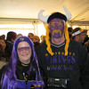 Julie and Tom. Viking playoff game vs the Eagles. January 2009