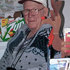 Uncle Red at Mom's house.  He and Pauline were out for a Sunday Drive.  Circa 1999.