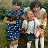 Joan, Veronica and Kate on Gibbs Hill in summer 1968.  Camera was probably a Pentax Spotmatic F with a 50mm f/2.0 lens.