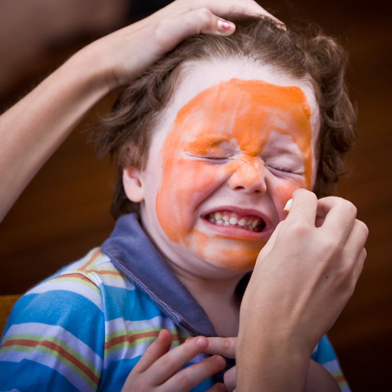 Face Painting - Before