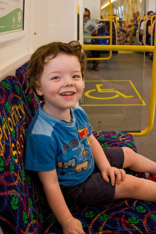 Mandurah-Perth train adventure - Oliver