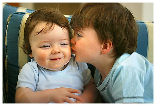 Alexander and Oliver - October 2006