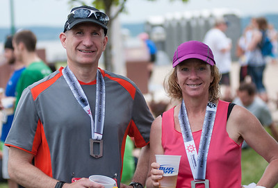 2013 Peoria Steamboat Classic - Illinois' Toughest 15K.  With Rhonda S. who completed her FIRST Steamboat 15K - Congratulations!