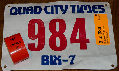 Bix 7 2013 - coldest start in 39 history of the Bix - 58 degrees.  Chip time - new PR 54:04
