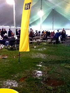 3.5 Corporate Chase Race May 26th, 2011 Chicago IL. 23K people participated and over 300 Cat people were signed up this year.  Even inside the tents were full of water due to days of rain ahead of time. - Photo courtesy of Sung Pak