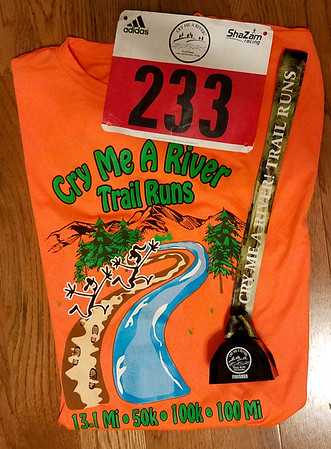 Cry Me a River Half Marathon Trail Race July 2018
