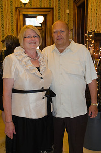 Cathy and Chuck Barton, parents of the bride.