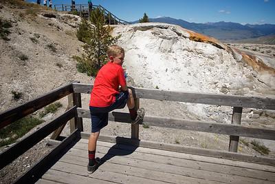 Pondering Mammoth Hot Springs