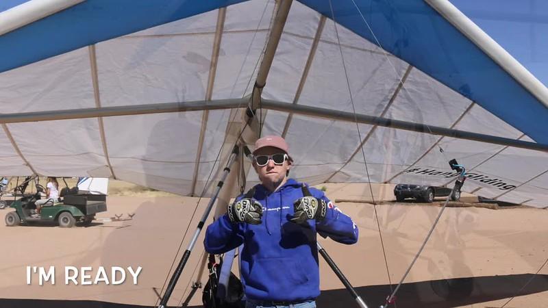 Hang Gliding Jakobe 4.14.18 Sonora Wings