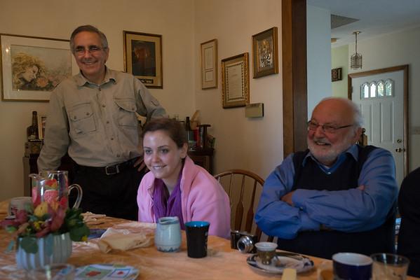 Lynn, Elizabeth and Brad October 2012