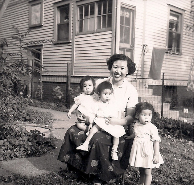Mary, Polly (the twins), Shirley & Mom