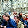 2000 OCT WAITING TO GO ON LONDON EYE VC TREMLETT/KEITH/ANN
